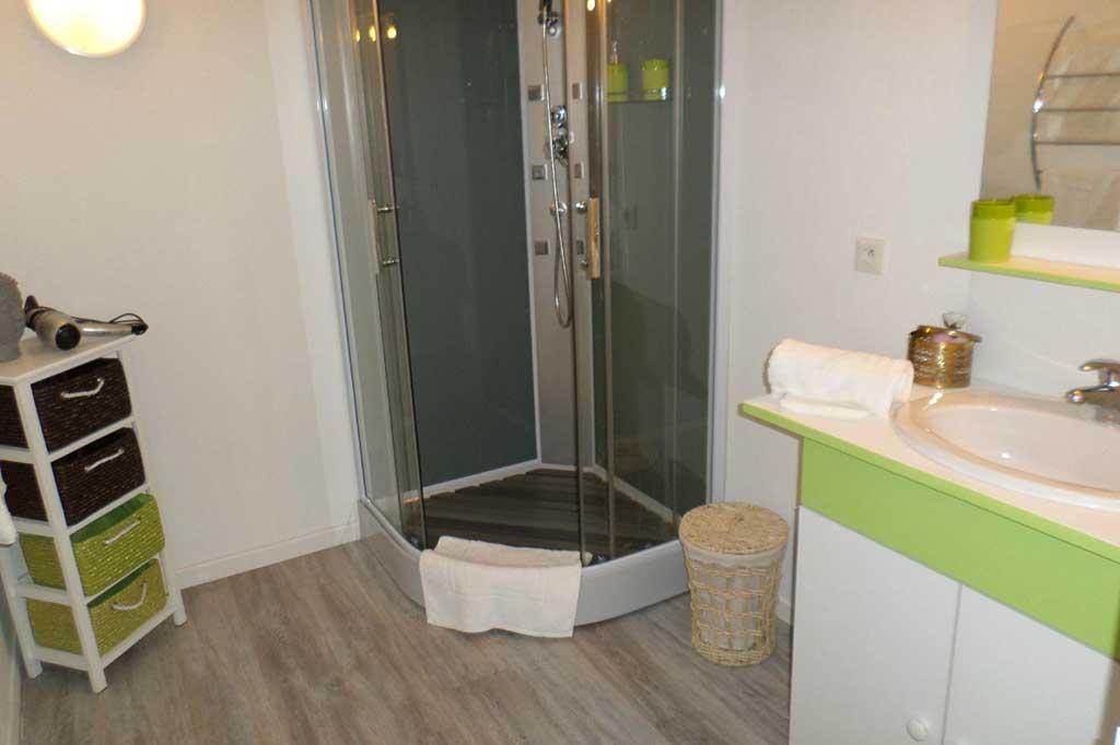douche chambre Andréane